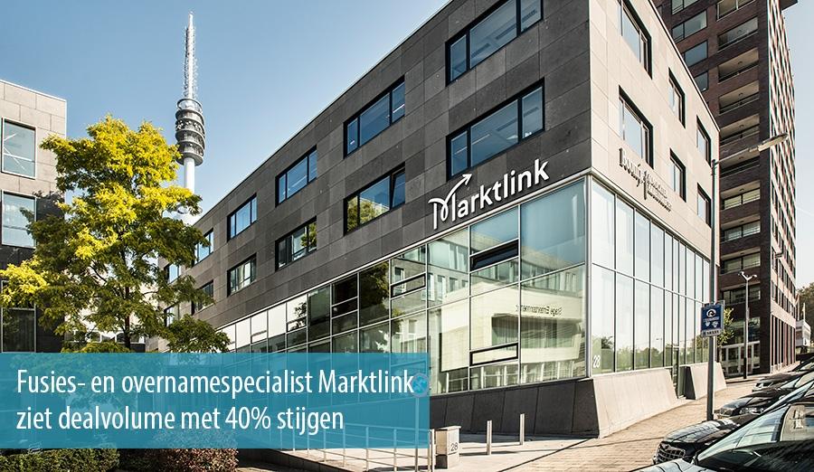 Fusie- en overnamespecialist Marktlink ziet dealvolume met 40% stijgen