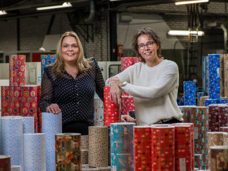 Familiebedrijf Keijzer Papier bundelt krachten met Kaleidoscope Gift-Wrap