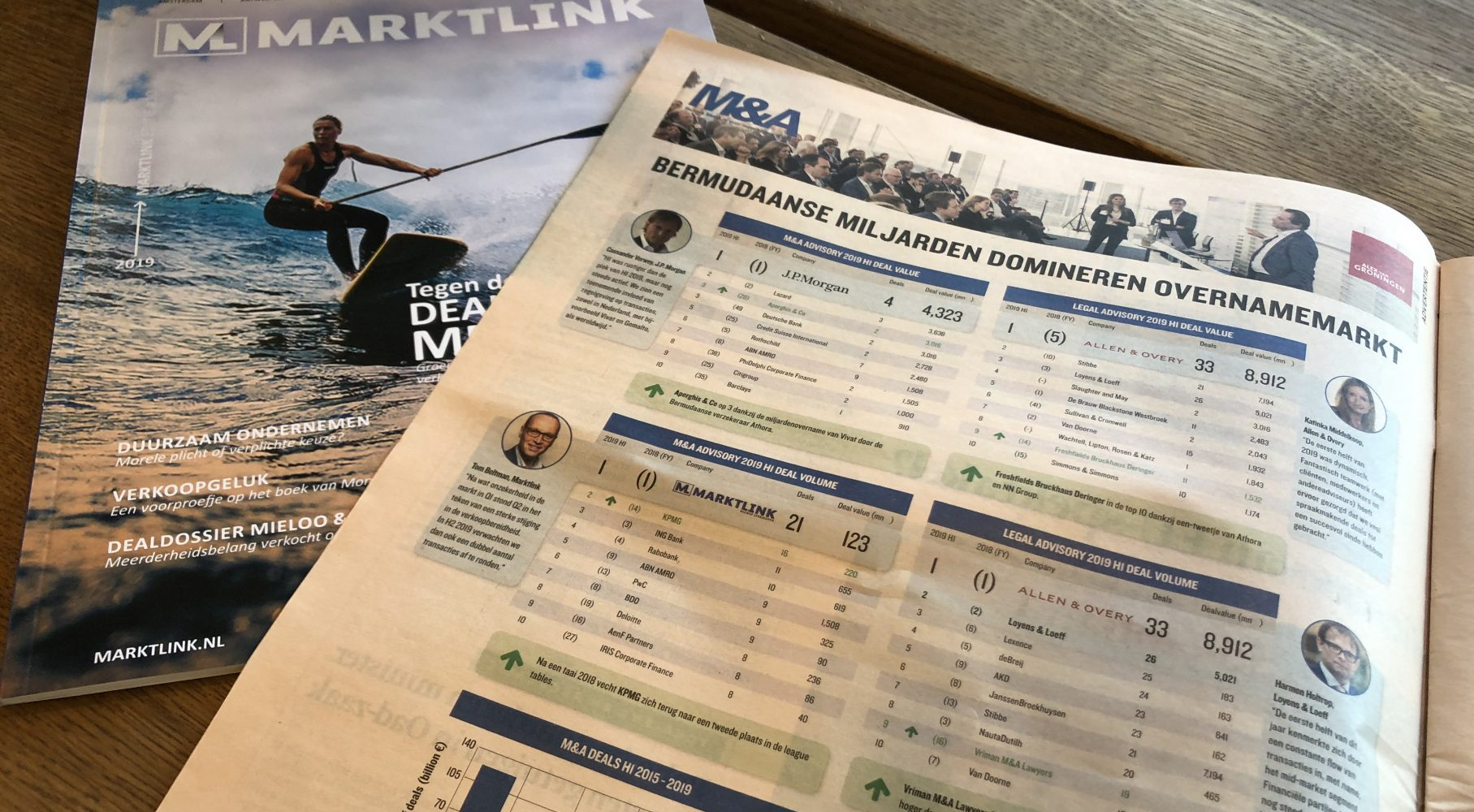 Marktlink tops M&A deal ranking